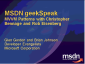 geekSpeak Recording - MVVM Patterns with Christopher Bennage and Rob Eisenberg