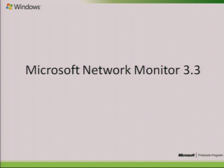 Microsoft Network Monitor 3.3 Overview