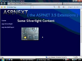 Silverlight 2 Beta 2 - The asp:Silverlight Control