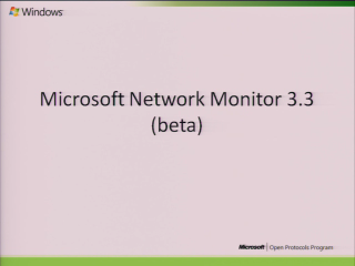 Network Monitor (Netmon) 3.3 Overview