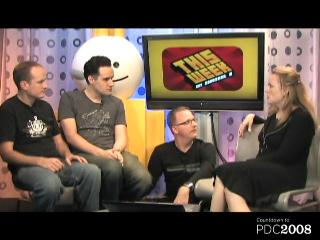 This Week on C9 – Hell No!  Countdown to PDC2008 Ambush Dan and Brian, Taking Over their Show for 10 Groovy Minutes