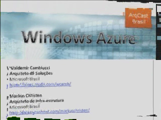 ArqCast Brasil - Windows Azure