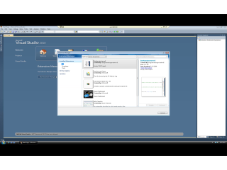 The VS2010 Extension Manager