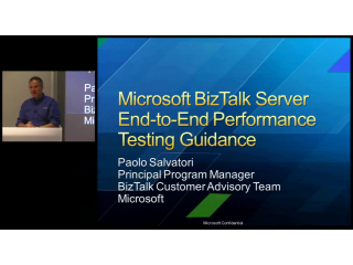 BizTalk 2009 – End to end performance testing (1/2)