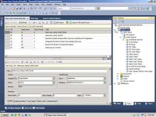 Visual Studio Team System 2010: Agile Workitems und Links
