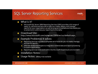 Toolshed Tooltip #10 - SQL Reporting Services from Episode 2