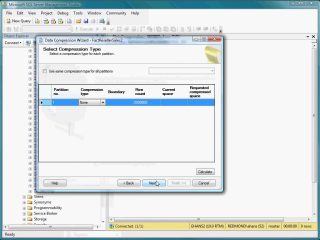 Demo SQL Server 2008 Data Compression
