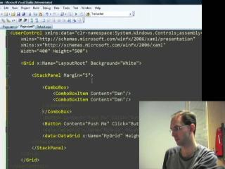 Scott Guthrie: Building a Silverlight 2 application