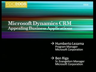 Microsoft Dynamics CRM: The Appealing Business Application
