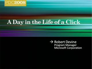 Microsoft Advertising Platform: A Day in the Life of a Click