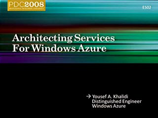 Windows Azure: Architecting & Managing Cloud Services