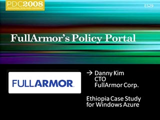 Showcase: Windows Azure Enables /Nsoftware and Full Armor
