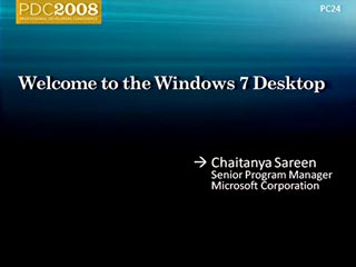 Windows 7: Welcome to the Windows 7 Desktop