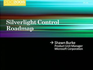 Silverlight Controls Roadmap