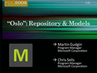 """Oslo"": Repository and Models"