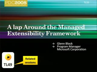 Managed Extensibility Framework: Overview