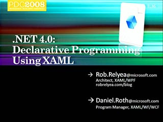 Microsoft .NET Framework: Declarative Programming Using XAML