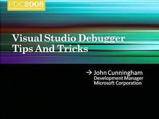 Visual Studio Debugger Tips & Tricks
