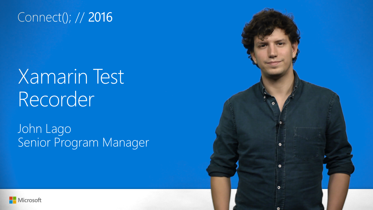 Jumpstart Mobile Testing with Xamarin Test Recorder