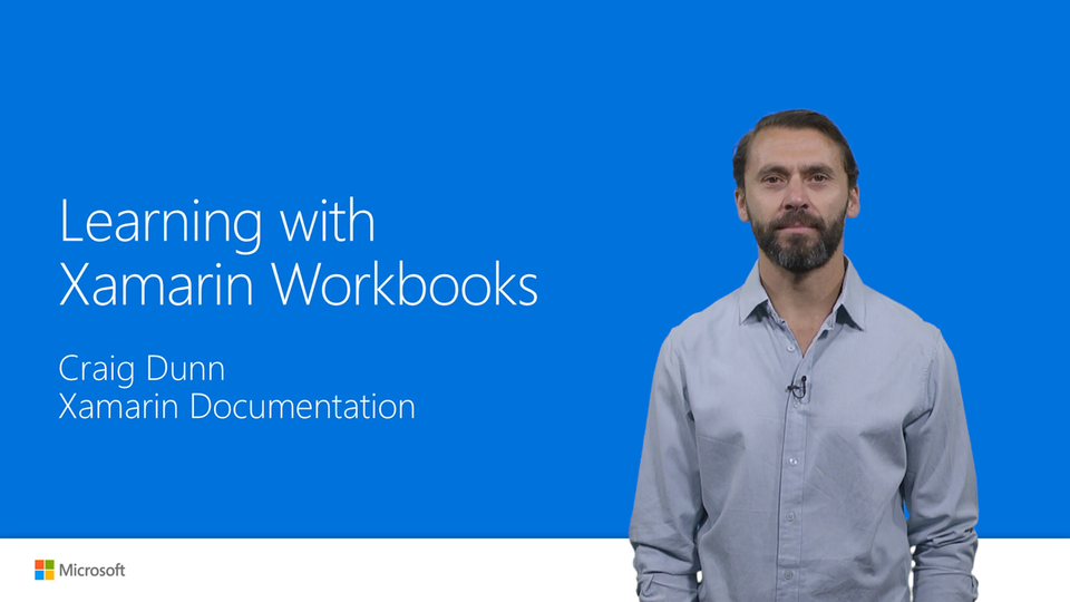 Learning with Xamarin Workbooks