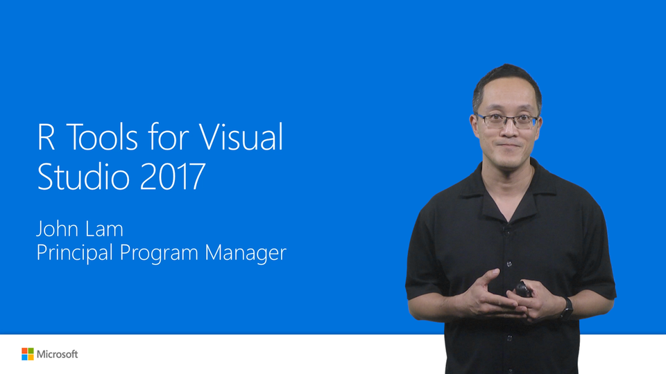 R Tools for Visual Studio 2017