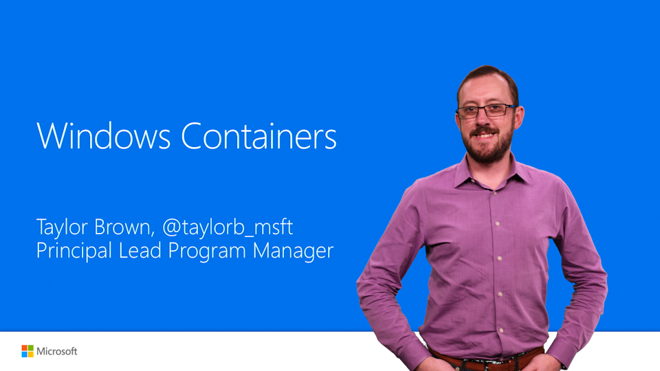 Dive into the new world of Windows Server and Hyper-V containers