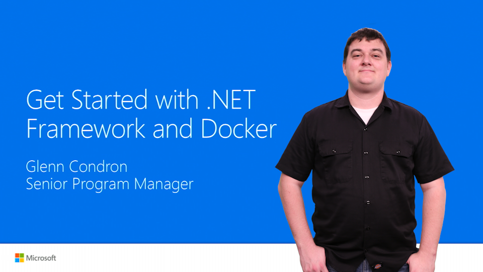 Get Started with .NET Framework and Docker