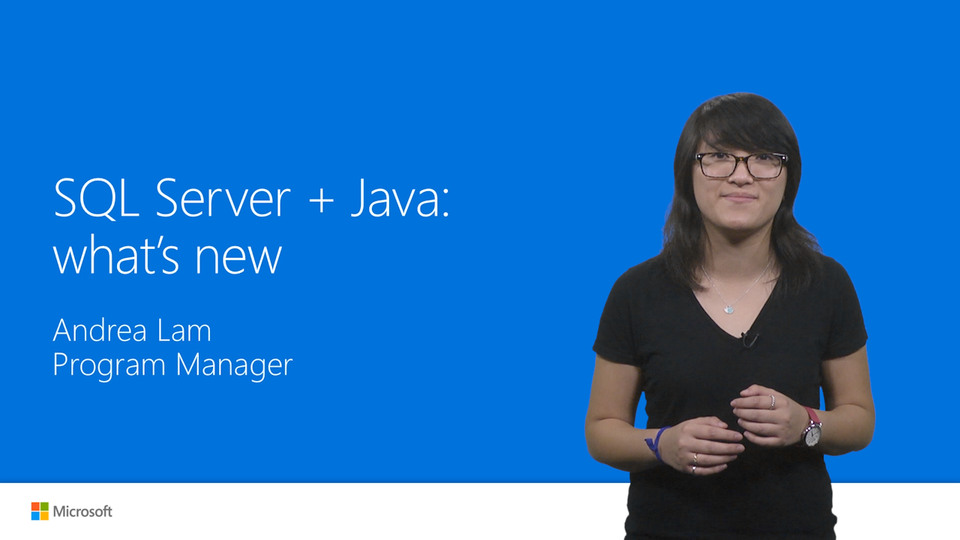 SQL Server + Java: what's new