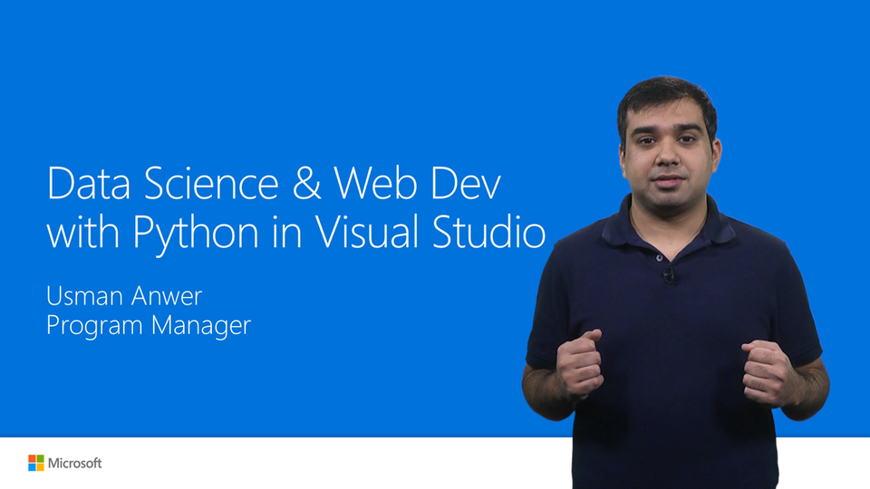 Data Science and Web Development with Python in Visual Studio