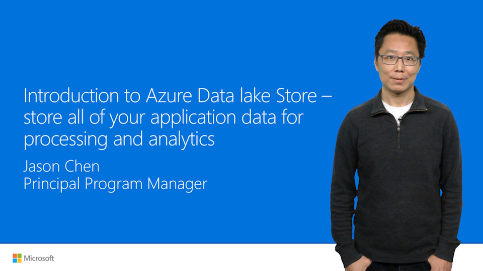Store application data with Azure Data Lake Store