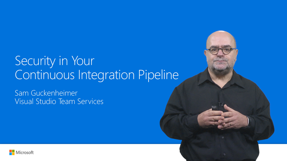 Security in Your Continuous Integration Pipeline