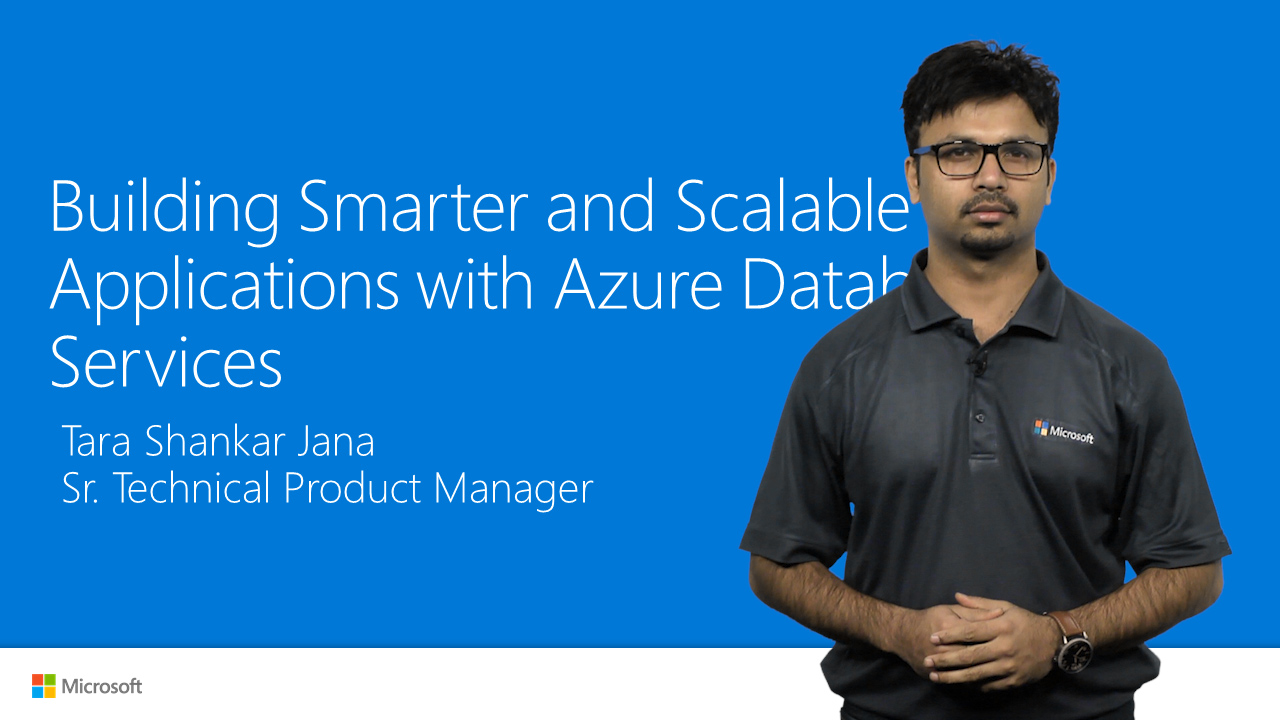 Smart, scalable apps in Azure Database Services