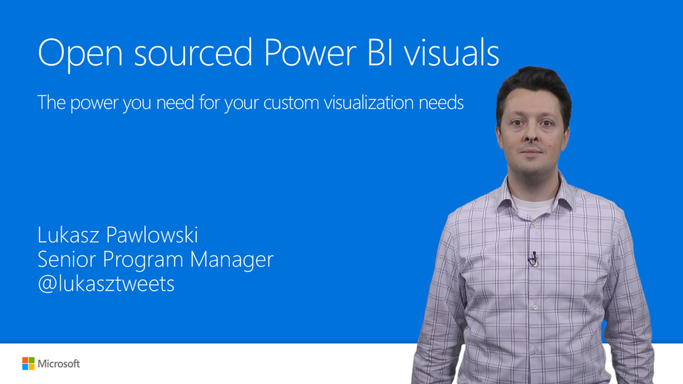 Open-source Power BI visuals