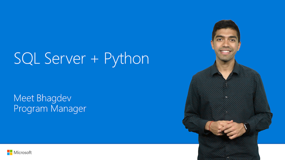 SQL Server + Python: what's new