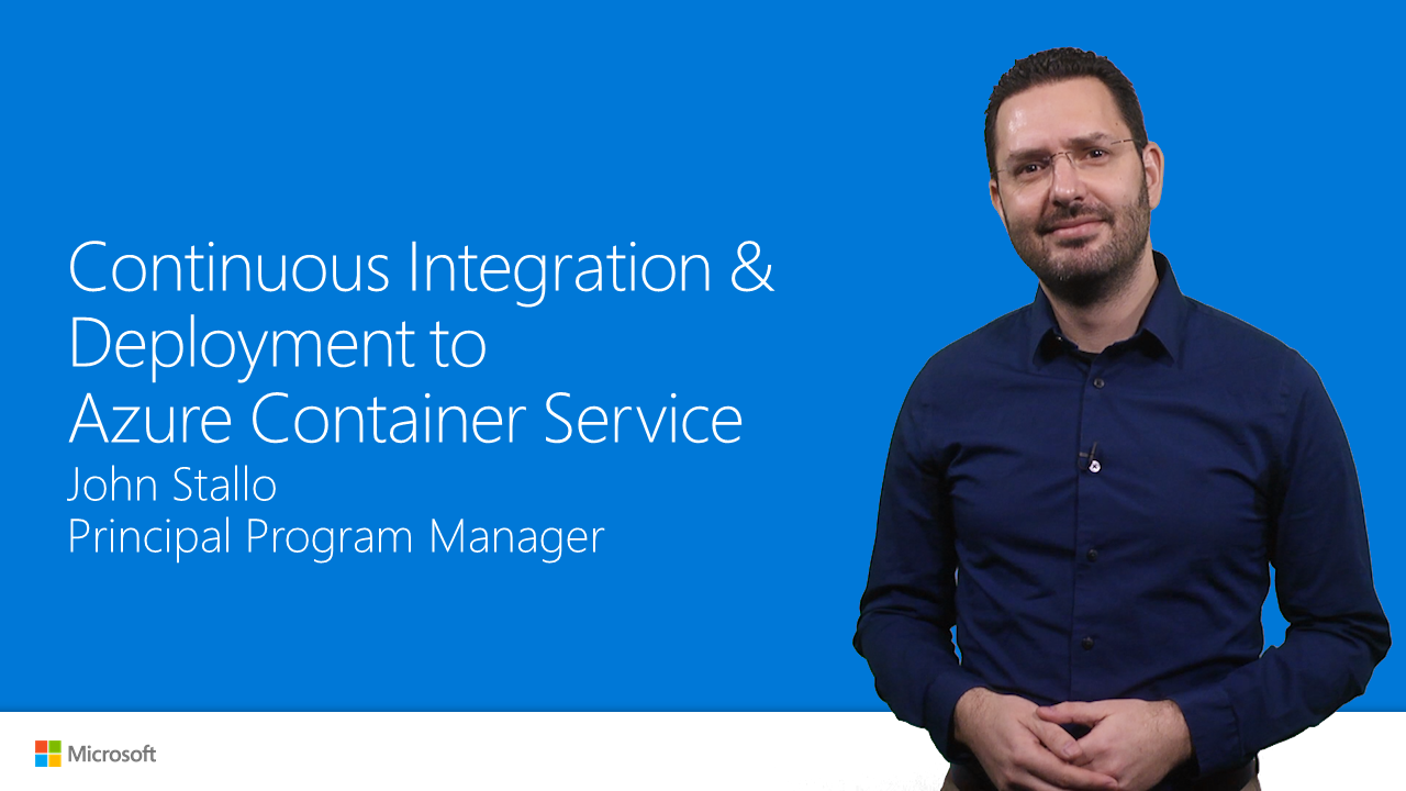 Continuous integration and deployment of multi-container Docker apps to Azure Container Service (preview)