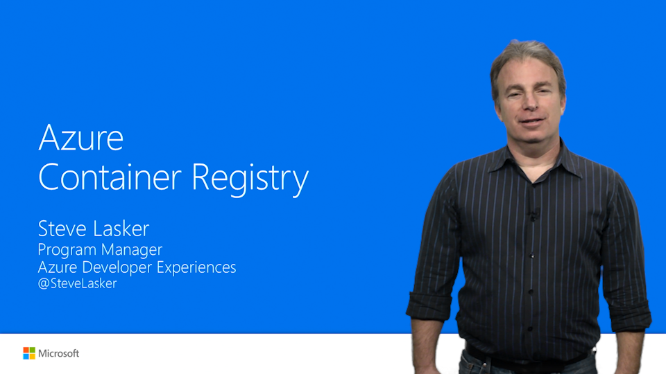 Creating, Configuring the Azure Container Registry
