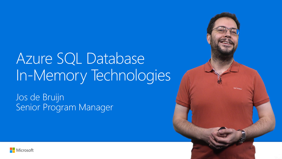 SQL Database In-Memory technologies