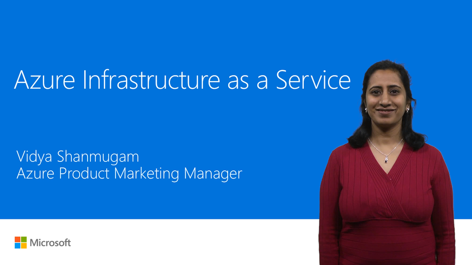 Azure Infrastructure as a service & Azure Resource Manager Overview