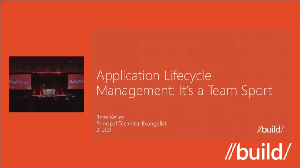 Application Lifecycle Management: It's a Team Sport