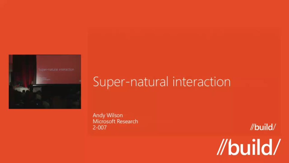 Super-Natural Interaction