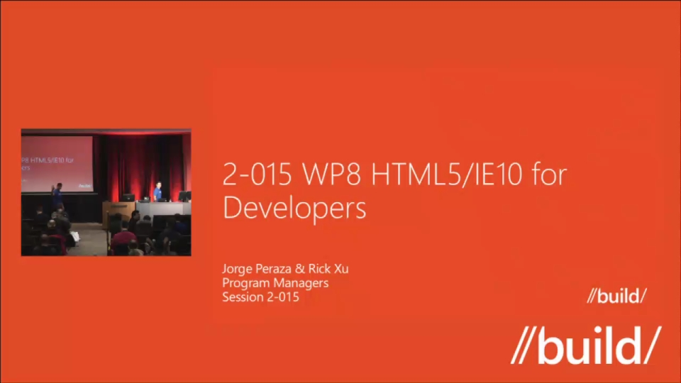 Windows Phone 8: HTML5/IE10 for Developers