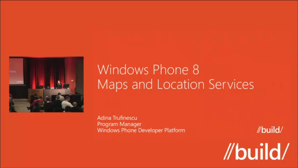 Windows Phone 8: Maps, Location, and Background Execution for Developers