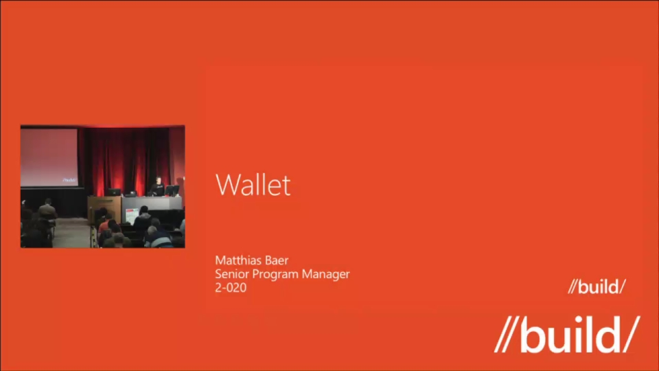 Windows Phone 8: Wallet and Deals for Developers