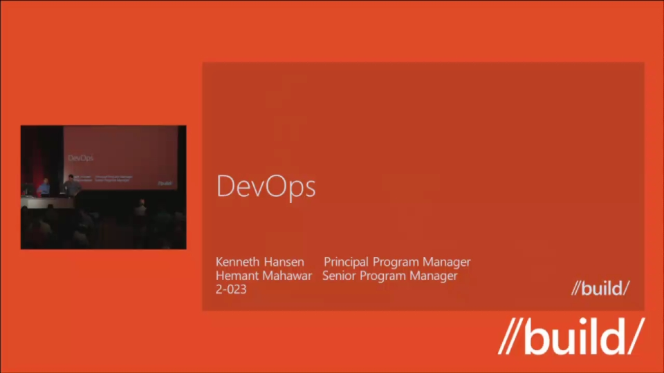 Bridging the DEV-OPS gap with Windows Server 2012 and Visual Studio 2012