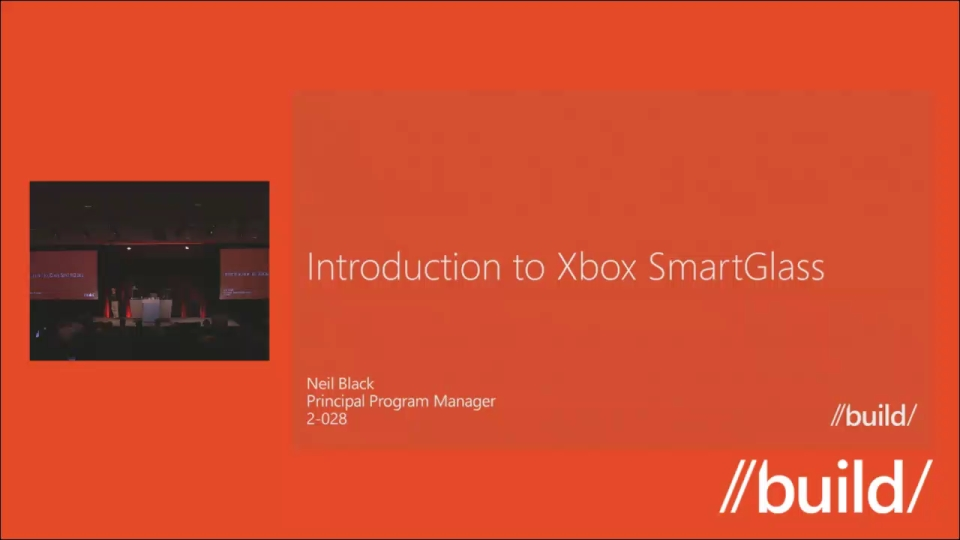 Introduction to Xbox SmartGlass