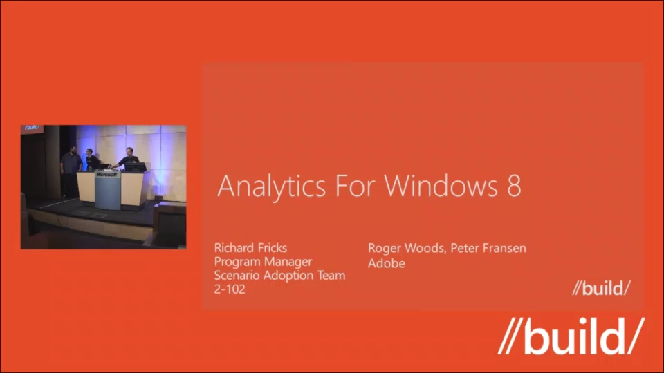 Analytics for Windows Store apps
