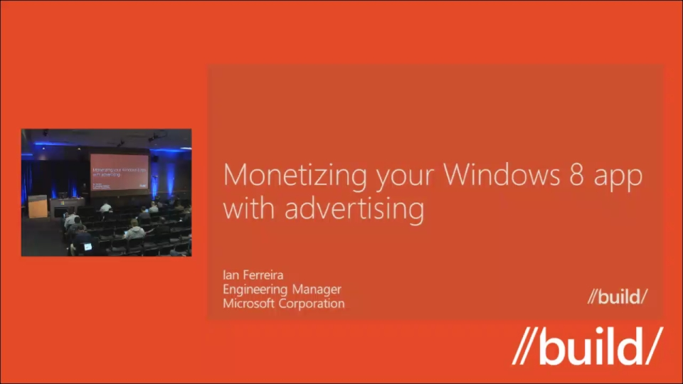 Monetizing your Windows 8 app with advertising