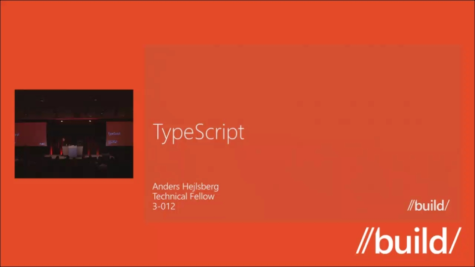 Introducing TypeScript: A language for application-scale JavaScript development