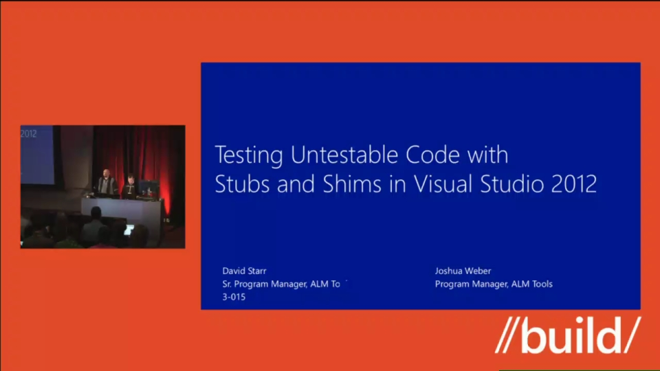 Testing Untestable Code with Stubs and Shims in Visual Studio 2012