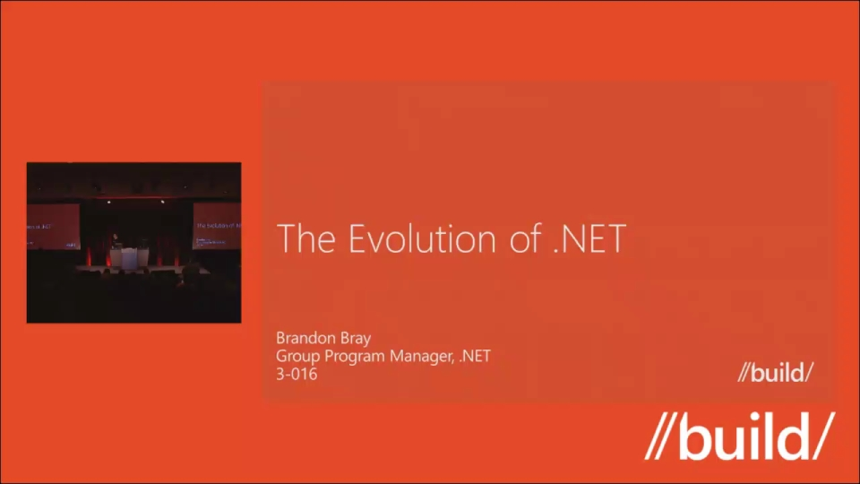 The Evolution of .NET